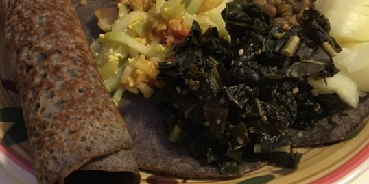 vegan vegetarian gluten-free teff love injera bread recipes
