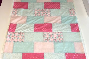 A quilt for the county fair. You choose the fabric!