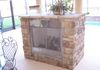 Cahill Homes Custom Outdoor Fireplace