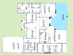 Cahill Homes 2 Story Home Plan  Sarasota Bradenton