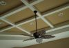 Cahill Homes Custom Coffered Ceiling