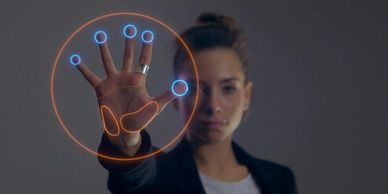 biometric hologram authentication by women