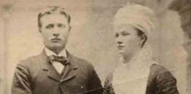 Hubert Kohn and Anna Mich Wedding Photo