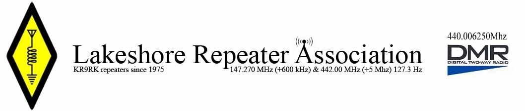 Lakeshore Repeater Association KR9RK