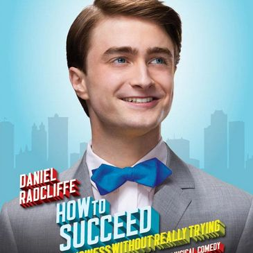 Daniel Radcliffe in How to Succeed in Business Without Really Trying