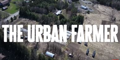 The Urban Farmer, Curtis Stone, Wheelbarrow Farm, electric tractor, solar powered farm