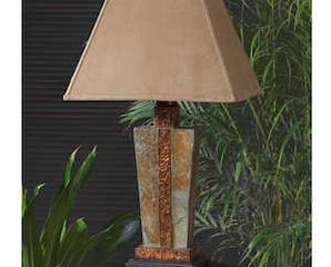 Uttermost Copper Slate Accent Lamp