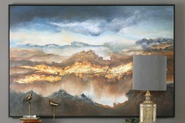 Uttermost Hand Painted Valley of Light Painting