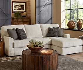 Best Dovely Collection is a handmade American contemporary styled sectional offered by Best Home