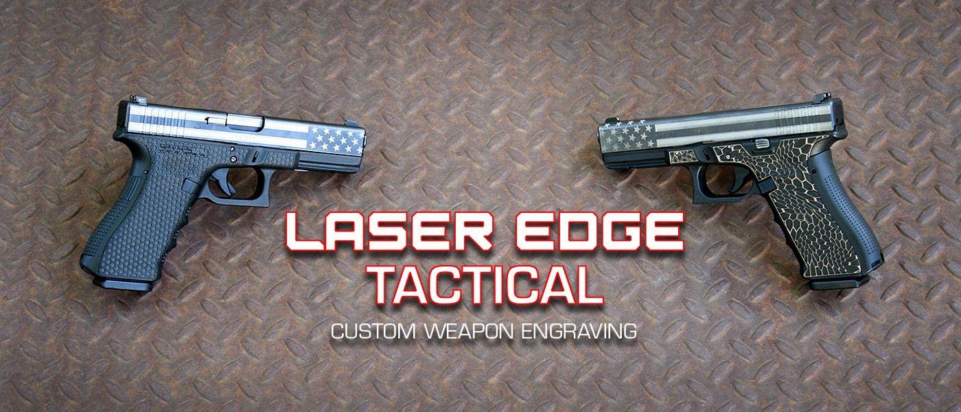 Laser Edge Tactical Laser Engraved Magazines