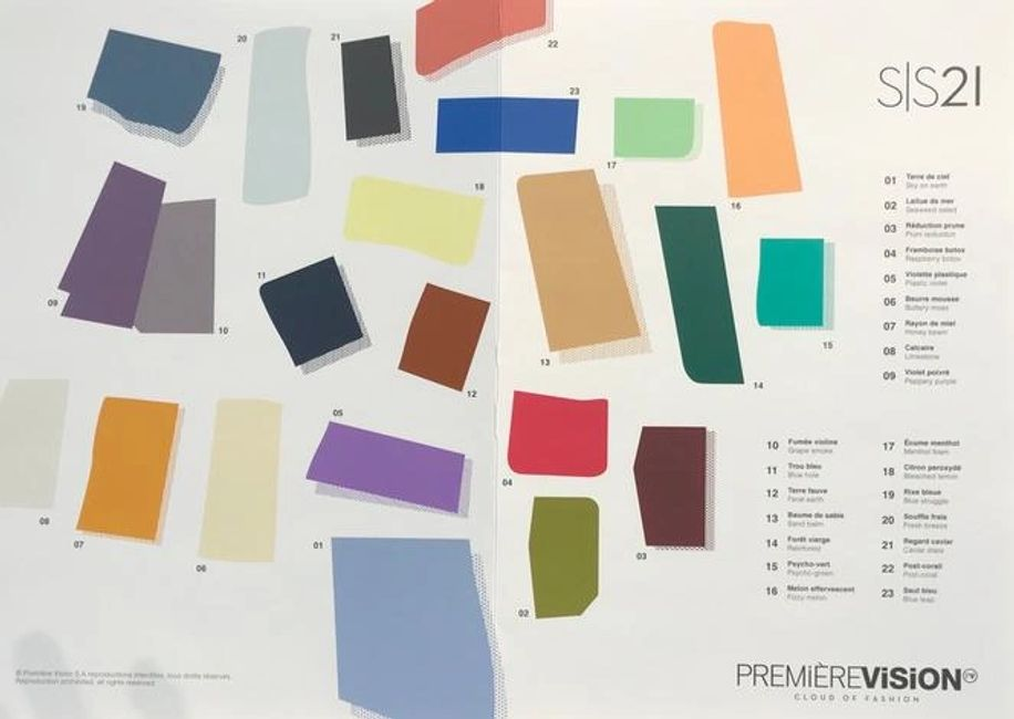 What's colors for Spring/Summer 2021