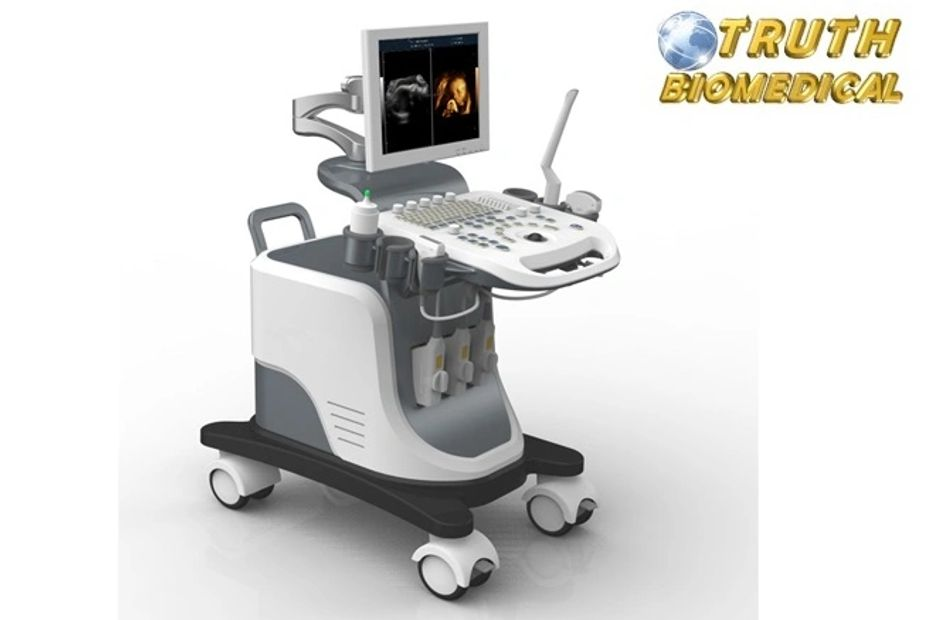 Color Doppler Machine , CE Certified and the Brand is TRUTH BIOMEDICAL ; Global Delivery.