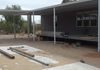 Attached Patio/Carport Combination Awnings