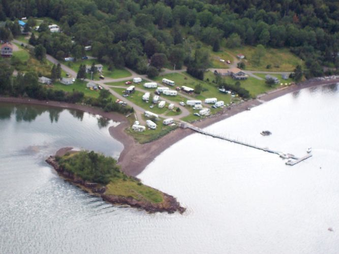 Located on Passamaquoddy Bay
