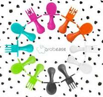Grabease Eating Utensils and Toothbrushes