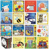 large selection of children's books