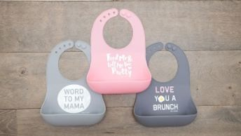 Bella Tunno Bibs, bowls and utensils