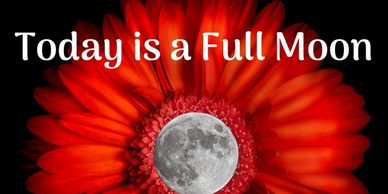 Today is a full moon