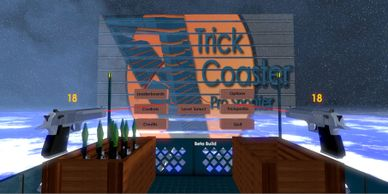 Trick Coaster: Pro Shooter, VR game for the HTC Vive made with Unity. Alvaro Chavez Mixco