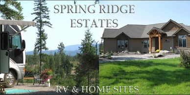 RV and Home Community. 55+ Community. RV land for sale Washington State. RV Acreages for sale.