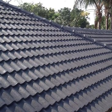 Waterproof tile roof in Pretoria Concrete slab roofs, Corrugated iron and IBR roofs Tiled Roofs