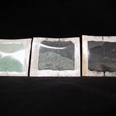 As the Corrosorber® Pouch absorbs these corrosive gases the powder will change from green to black