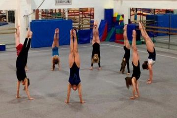 Tumble class at Cumbernauld Gymnastics Club