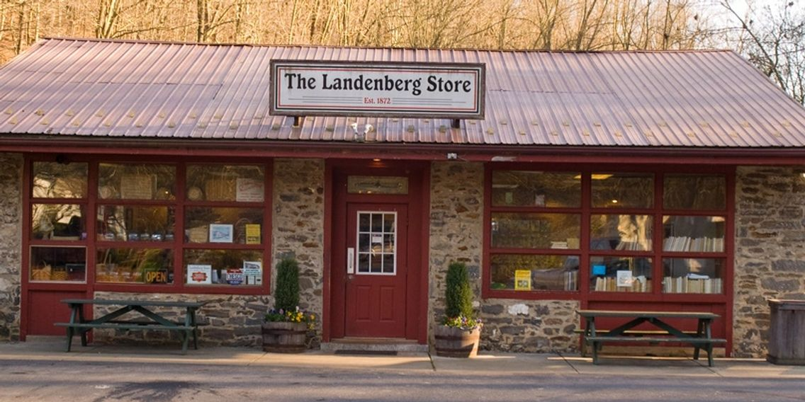 The Landenberg Store, Landenberg PA You can't get there from here!