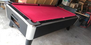 Coin Pool Table coin op pool table export pool table Caribbean pool tables