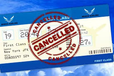 You never know if the Commercial Airlines may delay, or even worse, cancel a flight, what then?