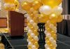 Gold & White Columns ~ Girl Scouts