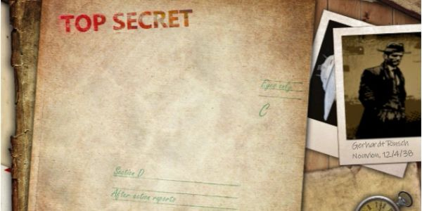 The Secret Files of Section D after action reports file