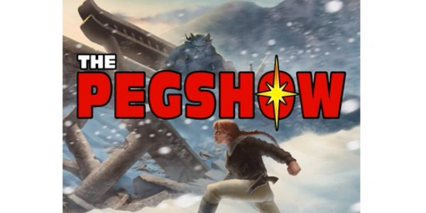 Logo for the PEG Show podcast from Pinnacle Entertainment Group