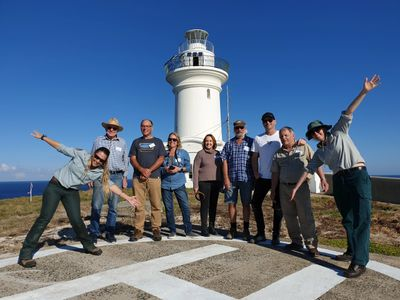 Walking Guided Tour of South Solitary Island, Coffs Harbour, NSW