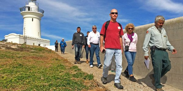Guided Walking Tour on South Solitary Island. Located 18kms from Coffs Harbour, New South Wales
