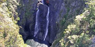 Gleniffer Falls, Waterfalls, New South Wales, Precision Helicopters, Coffs Harbour