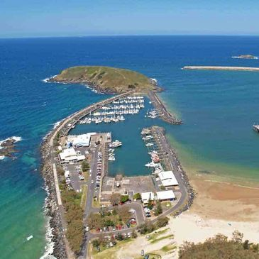 Precision Helicopters for breathtaking flights and spectacular perspective of Coffs Harbour