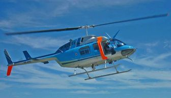 Bell LongRanger helicopter for scenic flights, Precision Helicopters, Coffs Harbour, NSW