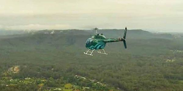 Helicopter flight over the Coffs Coast Hinterland, Precision Helicopters, Coffs Harbour, NSW