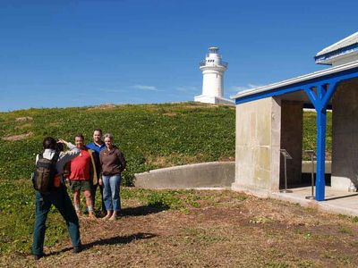 South Solitary Island lighthouse, Coffs Harbour, New South Wales, Australia Precision Helicopters