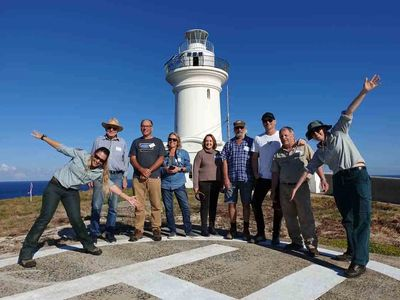 Walking Guided Tour of South Solitary Island, Coffs Harbour, NSW Precision Helicopters