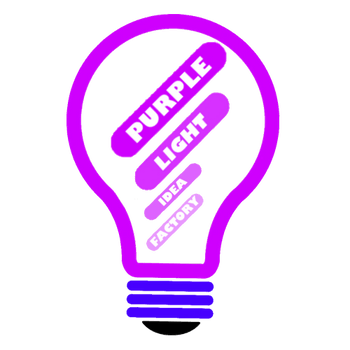 Purple Light Idea Factory
