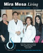 Mira Mesa Living March April 2017 Edition Featuring Bliss Dental Arts