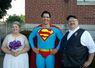 Serendipity, a wedding with Superman.