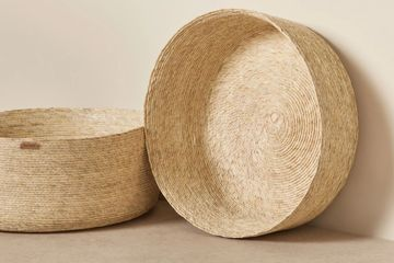 ethically sourced basket. Storage baskets. sustainable products.