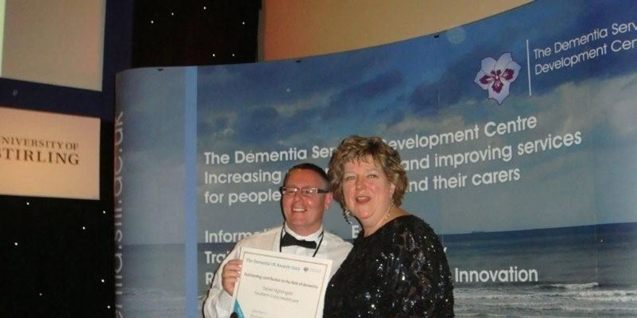 Dr Dan is an award winning Dementia Specialist and Clinical Hypnotherapist and Hypno-Psychotherapist