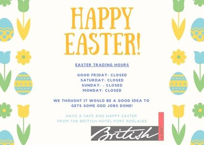 We are closed from Good Friday until Easter Tuesday. Sorry for any inconvenience.