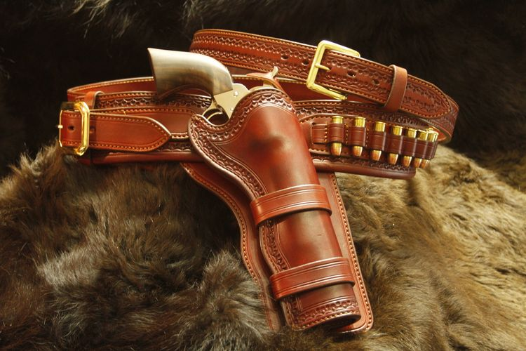 Custom Handmade Gun Leather
