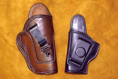 inside the waistband premium leather holster
