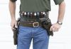 Custom full Western Rig with straight draw and cross draw holsters plus a shotgun belt. Color: Chocolate